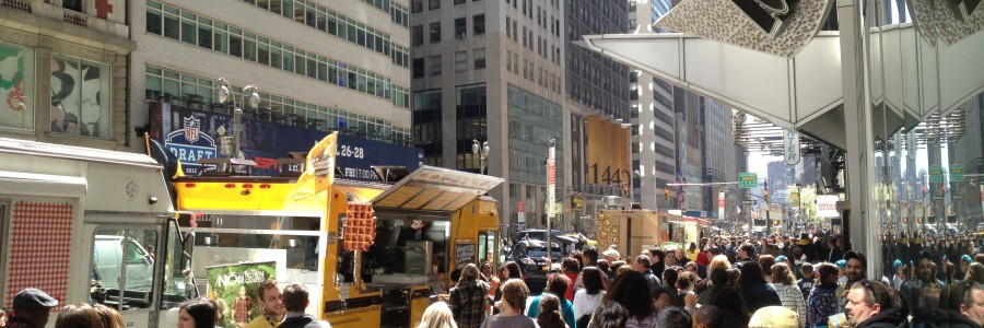 Wafels & Dinges in Times Square NYC